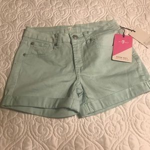 Girls 7For All Mankind Shorts